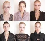 As modelos sen maquillaxe de Louis Vuitton